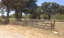 A scenic beauty! Trees [oak, mesquite & other], 3 ponds, with approximately 7 acres open grass. Paved road frontage, with water and electricity available. Located approx. 1 mile E of IH-35. Close to state police station and a golf course. SOUTH end