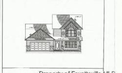 New Construction Home in Wooded QUIET Neighborhood~Down~Covered Front Porch~Lg Living Room w/Electric Fireplace~Kitchen w/Dining Area, Island, SS Appliances, Grantie Counter Tops~1/2 Ba~Master Bedroom w/Tray Ceiling, Double WIC~Mstr Bath w/His/Her Sinks,