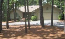 Beautifullymaintained home on the 3rd Fairway of Seven Lakes Country Club. Split bedroom plan with huge screened porch overlooking the golf course, masonry fireplace with gas logs, eat-in kitchen with solid surface counter tops and much more. Circular