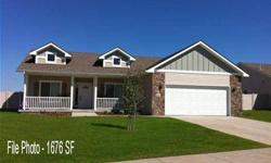 Welcome to Prairie Breeze. Copper Basin 1746 SF, 3 bedroom, 2 bath rancher features ,vinyl siding, stainless appliances & staggered cabinets in 17x22 vaulted great rm,11 x12 dining, 13x16 master w/walk-in closet & dbl sinks. White or stain trim package,