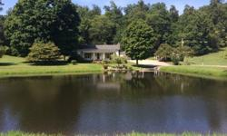 Great mini farm in western Limestone county. Elkmont, AL. 356205 acres home fronts a beautiful lake. Property has a 3 bedroom 2 bath home built in early 1970's . outside building. fruit trees, flowing springs. Outstanding countryside homeplace.