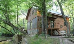 Mountain Creekfront Cabin^^909 Old Mill Pond $189,900.00  909 Old Mill Pond, Mineral Bluff, GA 30559 35 Photos 2 Bed, 1.5 Bath Tour # 2772993   This cedar log cabin is located right on noisy Hot House Creek. Sit on the deck and enjoy the