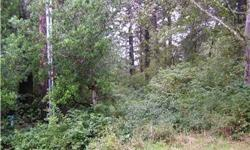 This interior lot at Ocean Shores is centrally located. You will be close to activities on the lake, ocean or town. Clear the property to your desire. Power is on the property so you can use your RV right now, or build your dream house or cabin. Sewer LID