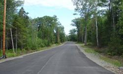 1 to 2 acre house lots. Soil tested, surveyed. Great neighborhood. Close to Bangor, Brewer, Orono and Old Town