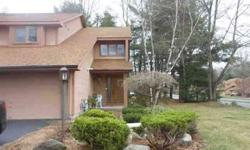 Great end unit townhome in desirable Georgetown Square! Master suite with loft / office area. Living room with french doors, fireplace and high ceilings, formal dining room with hardwood floors. All on a quiet cul-de-sac location in Guilderland. Listing