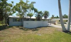 SHORT SALE - Gulf Access, 2 Bedroom, 1 1/2 Bath Home. One mile to downtown shops and restaurants.... Great investment area with lots of redevelopment. Vacant and easy to show short notice OK.