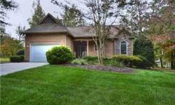 The Perfect Size, whether a Vacation Golf and Lake retreat,retirement,rental,or permanent residence. Situated in one of North Carolina's Premier Communities, this spacious one level home overlooks the putting green. Features Natural Cedar siding, a