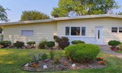 Beautiful rancher on corner lot with approx. 2,400 sq.ft. 3 bedrooms, 2 baths on main level, large updated kitchen with breakfast bar and room for large table. Basement has one (non-egress) bedroom with family room, craft room and storage. Very large,