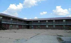 Mountain Grove, Mo. Motel-Offering 22 motel rooms, approximately 900 sq. ft. managers apartment, small reception area, laundry room with equipment, storage rooms, Lot Size-240x362.87. This is a BANK OWNED PROPERTY. Property sells AS IS WHERE IS. Feel free