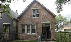 AS OF 10/15/2012 ** SUBJECT IS MISSING COPPER,FURNACE,ELECTRICAL AND OTHER , MUST HAVE CASH TO BUY THIS HOUSE, responsible for any structural ,foundation defects if any, Mold in subject buyer is responsible for any removal or contamination if any.Listing