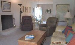 BEST PRICE ON 1/13 SHARE IN WYNDHAM. Vacation one week of each season in this furnished 3 bedroom 2 bath villa. Nicely furnished with comfortable leather sofa and berber carpet. The bedding is 1 King, 1 Queen and 2 twins. Close to all that Wyndham has to