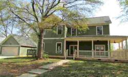 BANK OWNED - CRAFTSMAN STYLE HOME WITH LARGE ROCKING CHAIR FRONT PORCH AND 2 CAR DETACHED GARAGE. HARDWOOD FLOORS ON THE MAIN LEVEL. OPEN FLOOR PLAN. PERFECT HOME FOR THE SMART INVESTOR. HOME HAS BEEN VANDALIZED...CASH ONLY. Listing originally posted at