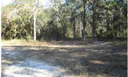 This over-sized 5.86 acre lot is located in Pasco County. Lot is located in a quite rural area, yet very accessible to all shopping and conveniences. Perfect land for a farm, single family home. No deed restrictions. This expansive lot has lots of
