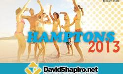 Call me at 212-579-4844 to find out more about the possibility of visiting us for some weekends this summer in the Hamptons. Some general info is at