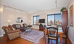 Unobstructed views and lots of light! See for miles from this sun-flooded 34th floor condo that has been totally renovated with beautiful finishes throughout. This stunning apartment offers two split bedrooms and two baths. The kitchen has Caesar stone