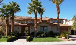 Highly upgraded luxury million dollar estate in prestigious guard gated Red Rock Country Club. Relax in the inviting courtyard with an outdoor fireplace and pavers throughout the exterior. Guests will be delighted to stay in the cozy detached Casita. The