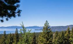 Panoramic Lake and Mountain views on Incline's eastern slope. Street to street lot, terraced, level yard with mature landscape-fenced with dog run. Stunning views from spacious and sunny deck. Greatroom floorplan, separate living room with wet bar and