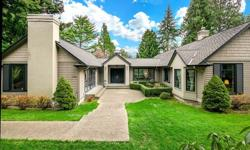 Simplicity infused with Style! Complete remodel 2000. Lives like a rambler with all the essentials on the main level including the spacious master. Generous windows, vaulted ceilings & sizable rooms provide ample natural light. Great room offers enjoyable