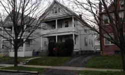 Well maintained lg 2 fam, charming w/character. Owner occ, great tenants, long term. Hardwood floors,replacement windows, updated/new electric panels. Great walk up attic w/ tons of storage or an opportunity for finished space. No showings until April 1