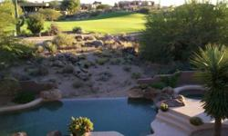 Unbelievable terms on this custom built luxury golf resort home directly on the second fairway of the award winning pinnacle course at troon north golf club. Listing originally posted at http