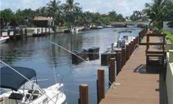 ALWAYS ON VACATION.THAT'S WHAT YOU WILL BE WHEN YOU BUY THIS LOVELY 2BED/2.5 BATH WATERFRONT TOWNHOME IN THE HEART OF LIGHTHOUSE POINT. OPEN AND SPACIOUS FLOOR PLAN W/DINING AREA AND KITCHEN OVERLOOKING POOL AND WATER.AMENITIES INCLUDE BUILT IN