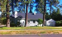 South Hill Charmer on corner lot. Features include 4 bedrooms, 2 baths, beautiful hardwood floors, spacious kitchen with lots of natural light and lovely formal dining room with french doors.Basement family room with fireplace currently being used as