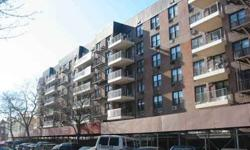 Nice 1-bedroom coop apartment custom made kitchen and bathroom, spotlights, large rooms, plenty of closet space, low maintenance, luxury building with playground, gym, laundry, elevator and garage, excellent location, close to shopping, transportation and