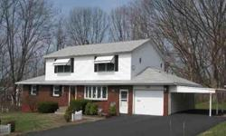 Well Maintained 4 BR 2.5 Bath Expanded Ranch on Dead End St. Huge 2nd floor Master Suite with LR w/gas FP, large BR with walk-in closet,master bath/lndry HU.HW Flrs throughout 1st floor, Replacement Windows, Newer Dway & Furnace. Listing originally posted