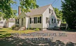 Beautifully maintained & cared for N. Deering home.Enjoy the summer on your deck overlooking the great backyard, expanded kitchen and sun room provide plenty of space, 1st floor master & full size bathroom,. Open House 7/13@12-2.Wade R Fleming is showing