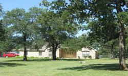 PRICE REDUCED --- You've Found It. Approximately 30 mature trees shade 2 beautiful acres. Built in 2005, this 3/2/2, 2014 Sq Ft home was repainted inside and out this year and new carpeting was installed in May. New Roof in 2011. Two dining areas. Split