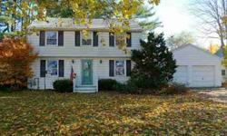 Classic garrison style home in popular north deering neighborhood.