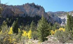 WELCOME TO MT. CHARLESTON! EXTRAORDINARY BUILDING LOT! THE LAST DEEDED LOT AT THE FAR WEST END OF THE STREET LOCATED AWAY FROM THE HWY WITH NATIONAL FOREST LAND TO THE WEST AND THE SOUTH (ACROSS THE STREET)! LOT FEATURES A DYNAMIC COMBINATION OF