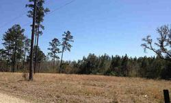 Large, beautiful lot in peaceful area. Just minutes to the interstate, you can build your dream home or put a mobile home in place and be ready in just days to enjoy of the country!