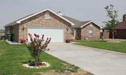 BEAUTIFUL home in great neighborhood, only 3 years old on .78 acre land. 3 bed/2 bath. Kitchen with granite countertops, stainless steel appliances. Huge master suite with double vanity, jet tub, and 2 closets. Listed with Newman and Company.