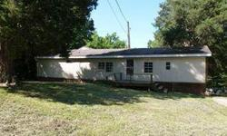 Single wide trailer w/addition on 1.2 acres. As-is, no warranties. Listing originally posted at http