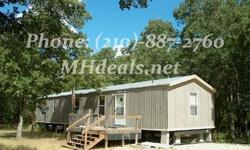 2 bedrooms and 2 bathrooms single wide mobile home. Home is 896 square feet (16 X 56). Great condition all electric. Master bathroom comes with a large garden tub/ shower. Low maintenance metal siding and roofing.Call us if interested (210)-887-2760Check