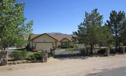Great house that is well taken care of. 3 bedrooms & 2 baths. 1491 sqft. Very nice living room with vaulted ceilings. 32x40 shop/garage for cars, motorcycles or RV. Shop has 220 power, heater and work benches. Horse setup includes separate barn with tack,
