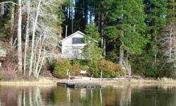 Wonderful lakefront property with cabin! Wonderful opportunity for those who enjoy the water during those summer months; activities such as roasting smores over a fire on the beach, boating, fishing, or just enjoying the view from the dock with a cup of