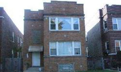 WOW MUST SEE THIS BEAUTIFUL BRICK 2 FLAT. IMPROVEMENT HAS BEEN MADE THROUGHOUT THE BUILDING. FINISHED BASEMENT WITH 2 SEPERATE FULL BATH AND BR. 2-CAR GARAGE WITH ROOM FOR OUTDOOR PARKING. **BUYER TO VERIFY INFORMATION INCLUDING LEGALITY OF BASEMENT**