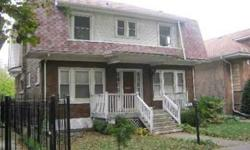 Potential galore in this west Andersonville, brick Colonial with wide lot, 3 car garage (just think what you can do with that!) full bath in basement, large fenced yard, perfect for any rehabber, handyman or builder. bring your ideas and you'll have a