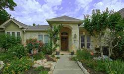 Located in what has turned out to be one of the most desirable neighborhoods in the very desirable hill country community of Boerne, Texas. This custom stone and stucco home on an oversized lot backing up to a permanent greenbelt is well designed and