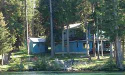 McGregor Lake frontage on a 1.37 acre state leased lot.Listing originally posted at http