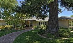First time on market! This 3000 plus square foot home sits on two legal lots with approximately .56 acres. It is absolutely a delight the moment you enter this oasis with the mature and thoughtful landscaping including gorgeous redwood, maple, oak and