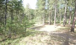 Great building or cabin site! Close location to towns, lakes and attractions, including Rapid City, Hill City, Custer; Pactola, Deer Field, Sheridan and Sylvan Lakes; Mt. Rushmore, Crazy Horse, and Custer State Park.Listing originally posted at http