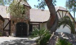 BEAUTIFUL 1 OF A KIND CASTLE STYLE SPRAWLING RANCH HOME W/TONS OF STONE ON QUIET CULDESAC OVER 1/3 ACRE.2 GARAGES ACCOMMODATE 6 CARS+RV PARKING W/ELECTRIC GATE TO STREET...PERFECT FOR AUTO ENTHUSIAST/CRAFTSMAN/RV/BIG TOYS!3 HUGE FULL SUITE BEDROOMS,BIG