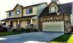 Fantastic Craftsman built by Greenstone Homes in the Terrific Ponderosa Ridge Community. They just are not building homes like this one anymore. The square footage is abundant and there are rooms for every need you can imagine. Options include a 4 car