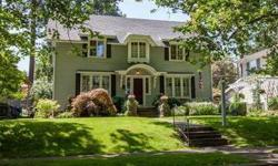 Beautiful 2 story on a tree lined street. There is a entry with french doors, built in corner hutches formal dining and gleaming hard wood floors. The Master has a sitting room that could be turned into master bath and a fireplace in master bedroom. It