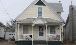 Currently an investment home...home features Living/Dining Rooms-Applianced Kitchen-Main Level Laundry in Bath(Washer&Dryer Inc. in Price)-Main Level Bedroom-Finished Attic with additional bedroom-Some Replacement Windows-GFA Furnace-Central Air-'02