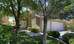 Lovely, upgraded home in Summerlin which has updated kitchen and master bath. Includes 4 bedrooms plus upstairs bonus room or second family room. Location is close to Hills Park, with views from back yard. Beautiful yard with pool, spa, BBQ cooking center
