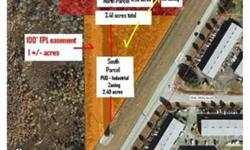 Old US 41 south of Bonita Beach Road on west side of road across from Rail Head Light Industrial Park. 2.49 acres abutting site to south is zoned PUD Industrial and is for sale and owned by same seller. MLS Number 212037067.